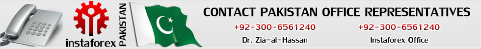 Contact Instaforex Official Representative In Pakistan